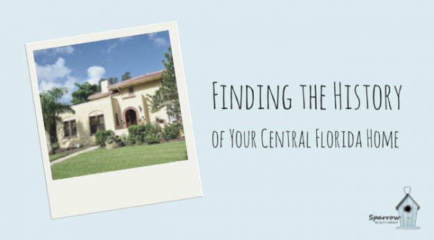 Finding the History of Your Central Florida Home