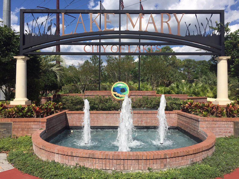 lake mary florida fountain