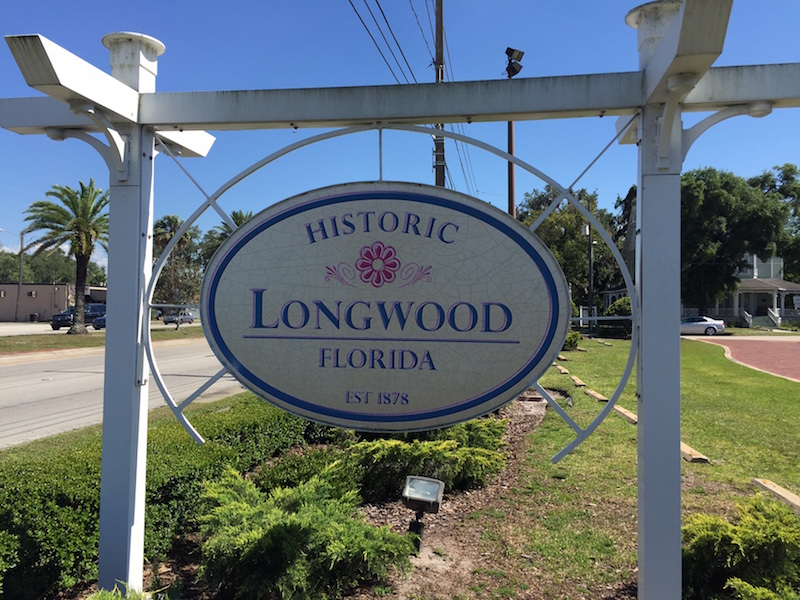 Historic Longwood Sign FL